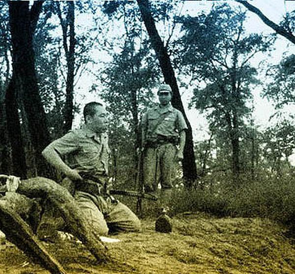 Photos Of Japanese Officer Committing Ritual Seppuku