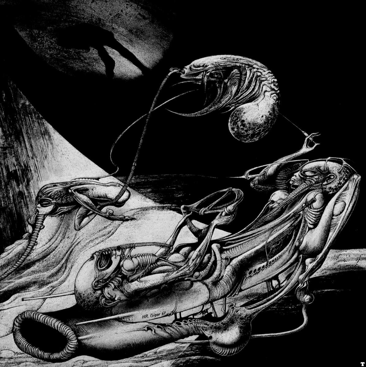 'Alien' designer HR Giger dies at 74 | Memolition H.r. Giger Art Sexual
