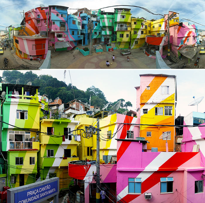 Colorful Buildings: World's Most Colorful Buildings