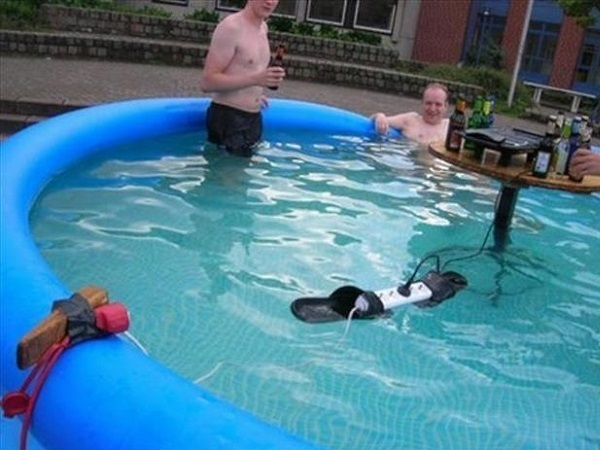 Image result for people doing stupid things