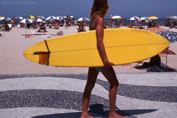 the Daily Life at the Rio Beaches in the late 1970s (10)