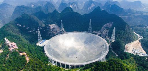 Five-hundred-meter Aperture Spherical Telescope