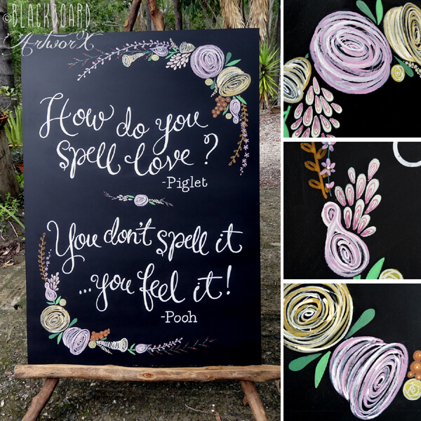 chalkboard - 7 ways to incorporate quotes in your wedding and sprinkle ...