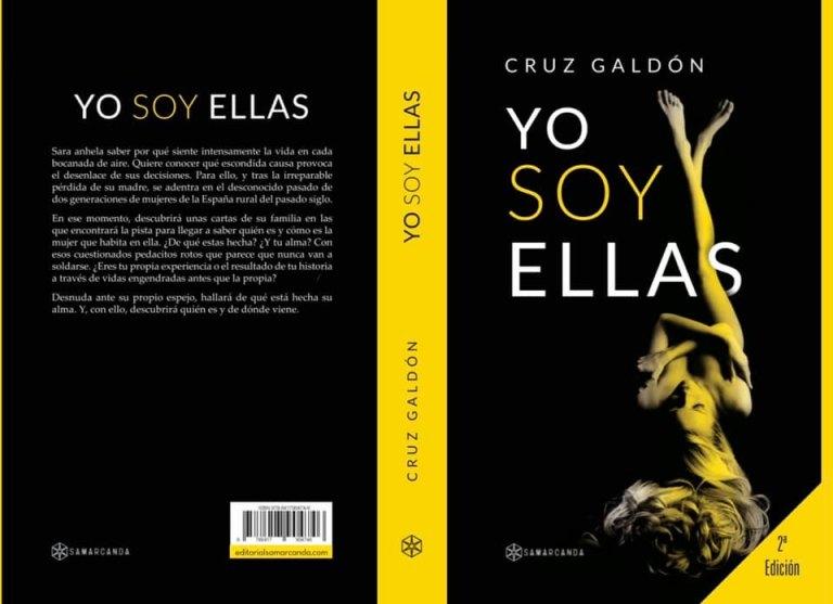 """Cubierta de la novela """"Yo soy ellas"""", de Cruz Galdón"""