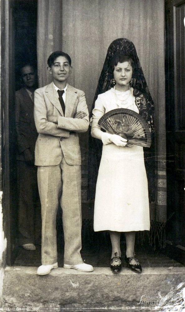 Mozos de Mayordomía 1934-35