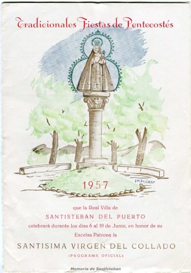 Tradicionales fiestas de Pentecostés 1957 - Programa Oficial