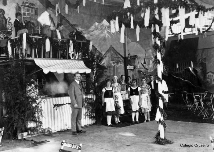 1926 - Bazar realizado no Colégio Cruzeiro