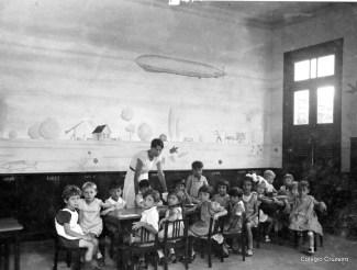 1934 - Alunos do Jardim de Infância
