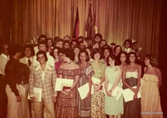 1976 - Formatura do 3º Científico