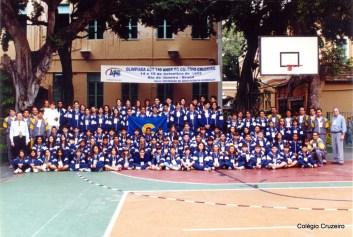 2002 - Olimpíadas dos 140 anos do Colégio Cruzeiro - Centro