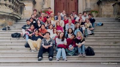 2002 - Viagem de Estudos à Alemanha do Colégio Cruzeiro - Centro