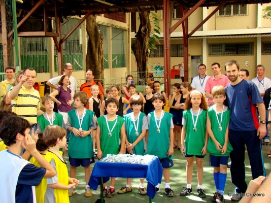2008 - Equipe de Futsal do Tempo Integral do Colégio Cruzeiro - Centro