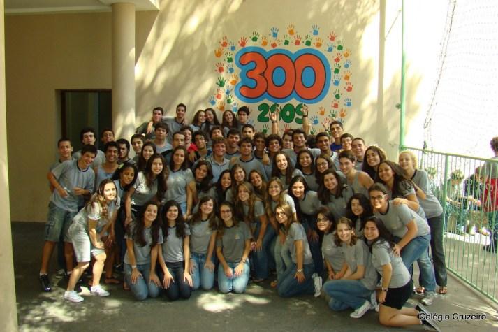 2009 - Turma 300 do Colégio Cruzeiro - Centro
