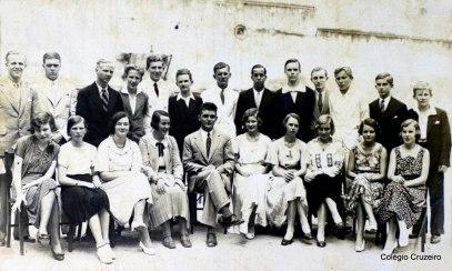 1932 - Alunos do Colégio Cruzeiro - Centro