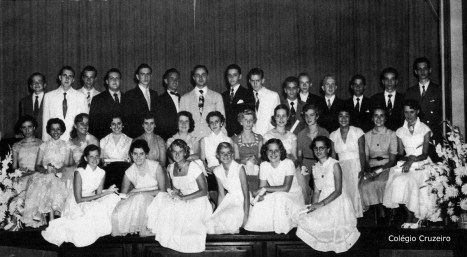 1953 - Formatura do 4º Ginasial