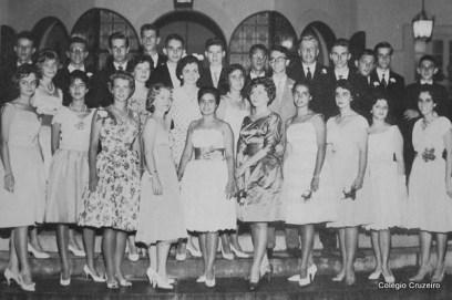 1959 - Turma do 3º Científico do Colégio Cruzeiro - Centro