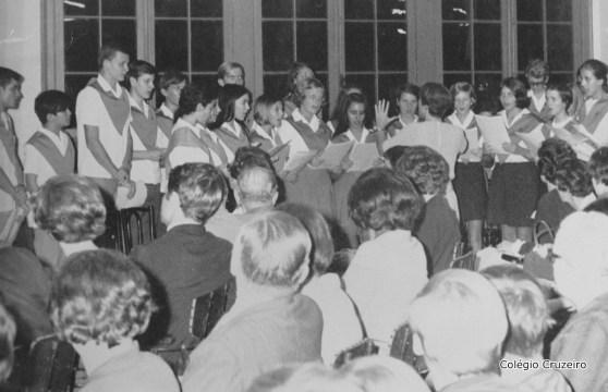 1969 - Apresentação do Coro na comemoração do bicentenário de Alexander Von Humboldt