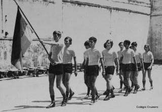 1971 - Jogos Olímpicos na quadra do Colégio Cruzeiro - Centro