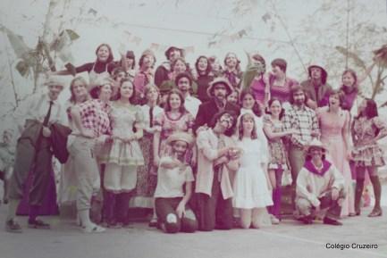 1974 - Festa Junina do Colégio Cruzeiro - Centr