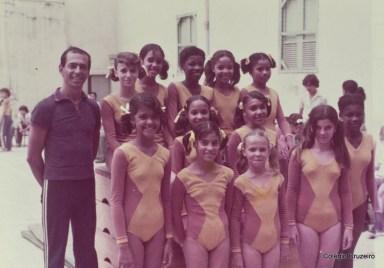 1977 - Competição de Ginastica Olímpica no Colégio Cruzeiro - Centro