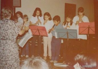 1979 - Apresentação Musical na Festa do Advento do Colégio Cruzeiro - Centro
