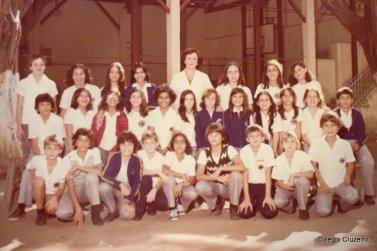 1979 - Foto de turma da unidade Centro