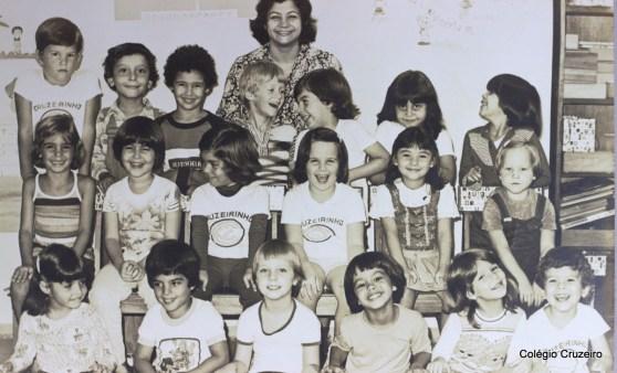 1979 - Turma do Cruzeirinho do Colégio Cruzeiro - Centro