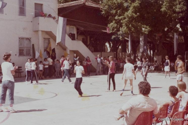 1980 - Festa em comemoração aos 112 anos do Colégio Cruzeiro - Centro