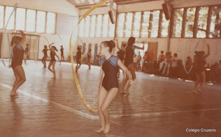 1982 - Competição de Ginástica Olímpica de alunos do Colégio Cruzeiro - Centro no Clube Militar