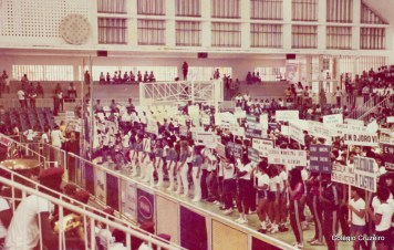 1983 - Colégio Cruzeiro em competição esportiva