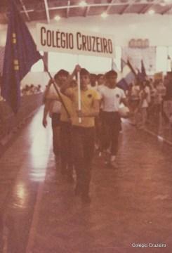 1983 - Participação do Colégio Cruzeiro em competição esportiva