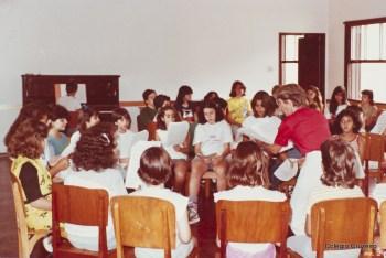 1984 - Alunos do Coro do Colégio Cruzeiro - Centro em Araras