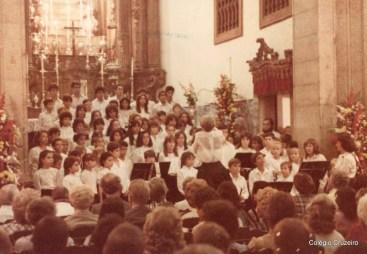 1984 - Apresentação do Coro na Igreja da Glória