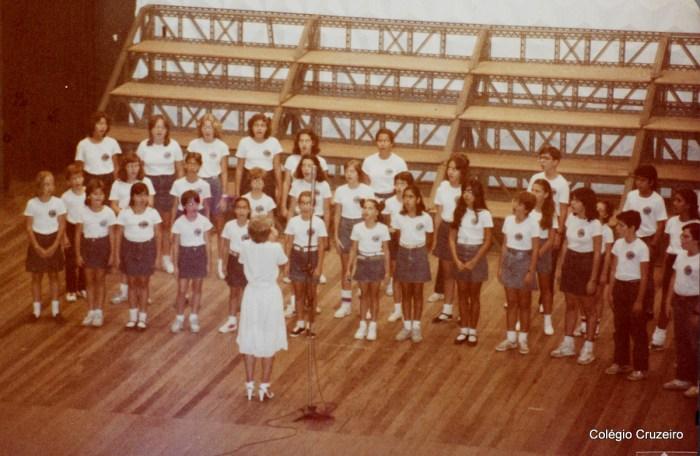 1984 - Participação do Coro no 9º Concurso de Corais JB