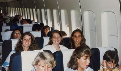 1987 - Viagem do Coro à Alemanha, em comemoração aos 125 anos de Colégio Cruzeiro - Centro