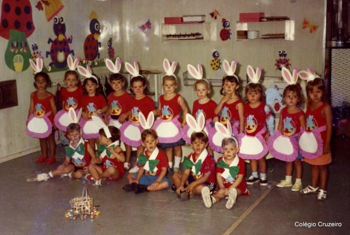 1990 - Páscoa no Cruzeirinho do Colégio Cruzeiro - Centro