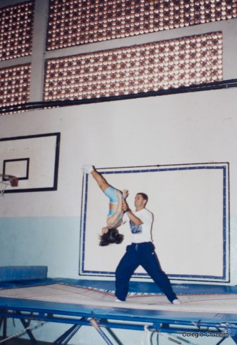 1995 - Ginástica Olímpica no Colégio Cruzeiro - Centro