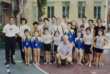 1997 - Competição de Ginástica Olímpica realizada no Colégio Cruzeiro - Centro