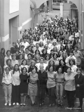 1997 - Corpo Docente do Colégio Cruzeiro - Centro