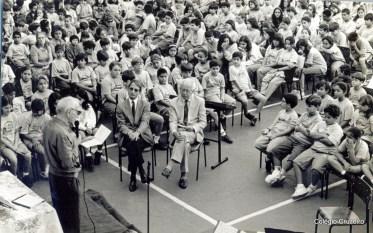 1997 - Culto ecumênico no Colégio Cruzeiro - Centro