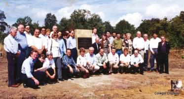 1998 - Lançamento da pedra fundamental do Colégio Cruzeiro - Jacarepaguá