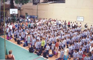 2001 - Abertura do ano letivo no Colégio Cruzeiro - Centro