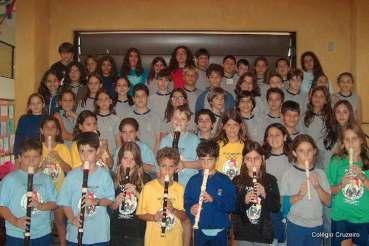 2001 - Apresentação de flauta de alunos do Colégio Cruzeiro - Jacarepaguá