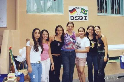 2001 - Frühschoppen no Colégio Cruzeiro - Centro