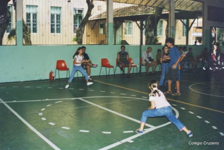 2002 - Campeonato de Tapinha organizado pelo Grêmio Estudantil da unidade Centro