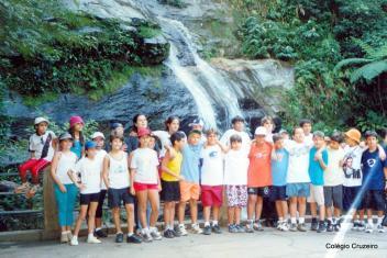 2002 - Passeio ao Alto da Boa Vista do Colégio Cruzeiro - Jacarepaguá