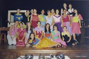 2004 - Apresentação teatral no Colégio Cruzeiro - Centro