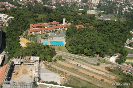 2005 - Foto aérea do Colégio Cruzeiro - Jacarepaguá