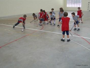 2006 - Aula de hóquei do Colégio Cruzeiro - Jacarepaguá
