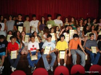 2006 - Entrega de Certificados de Alemão no Colégio Cruzeiro - Centro